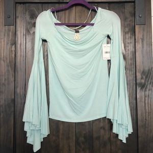 NWT Free People Mint Top - Small